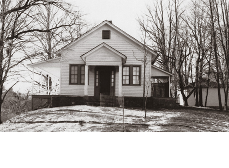 The Stoddartsville Church was started by John Stoddart in 1820 and open to all denominations. The original building was destroyed by fire in 1875; this building was put up on the same foundation in 1878. The church came under the Methodist faith in its later years, and was abandoned in 1915.