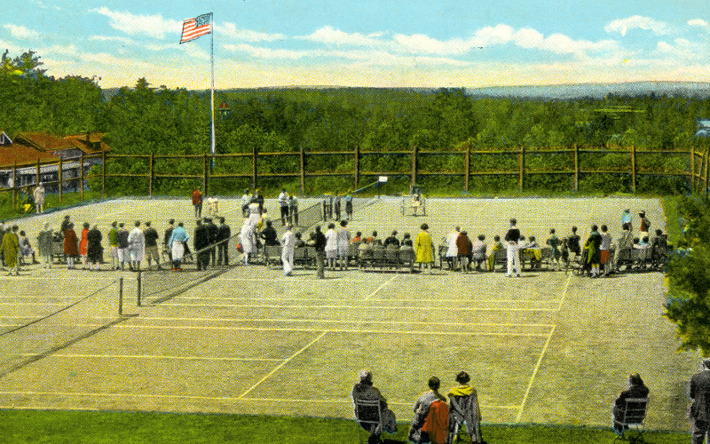 Tennis Match at Lutherland