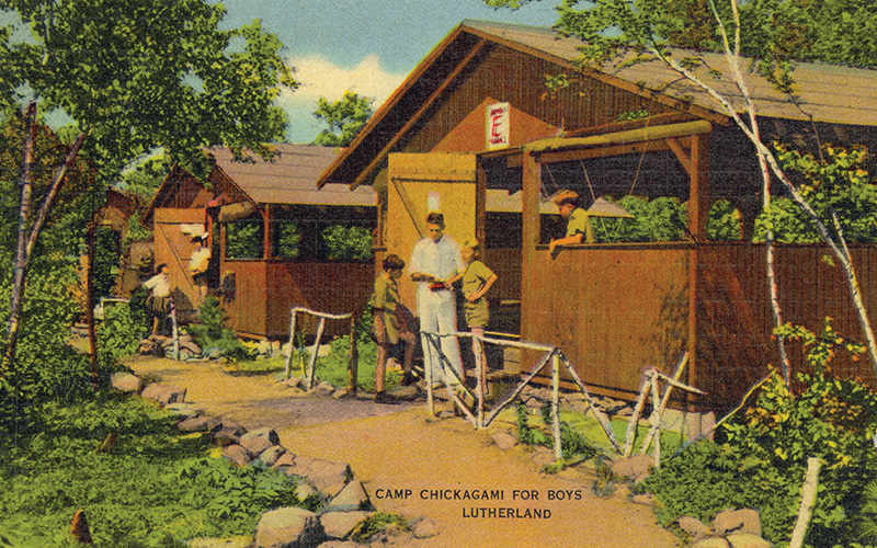Camp Chickagami for Boys at Lutherland