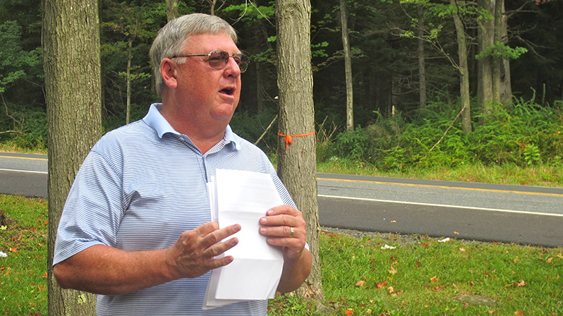Rick Bodenschatz of MATT provides some history about Wagner's Tree Farm and the Wagner family.